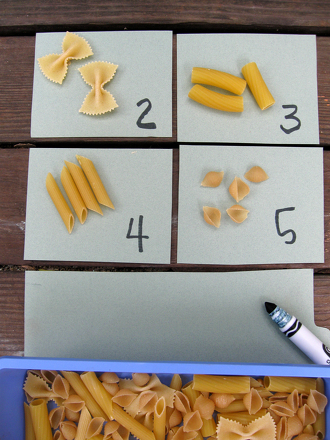 MATH WITH PASTA!